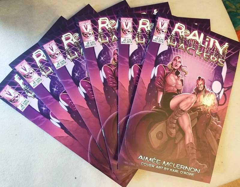 Cyberpunk Comic Reality Hackers Kickstarter Fully Funded 4