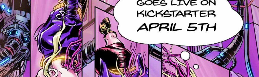 Cyberpunk Comic Reality Hackers Kickstarter Launch Date Announced