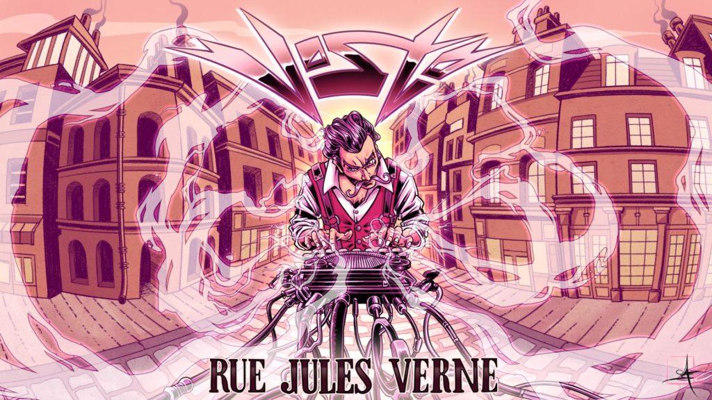 Vosto Rue Jules Vernes Album Artwork